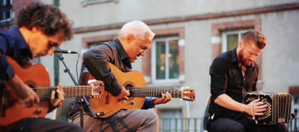 BIEN NUESTRO Trio Tango, Hommage à Carlos Gardel