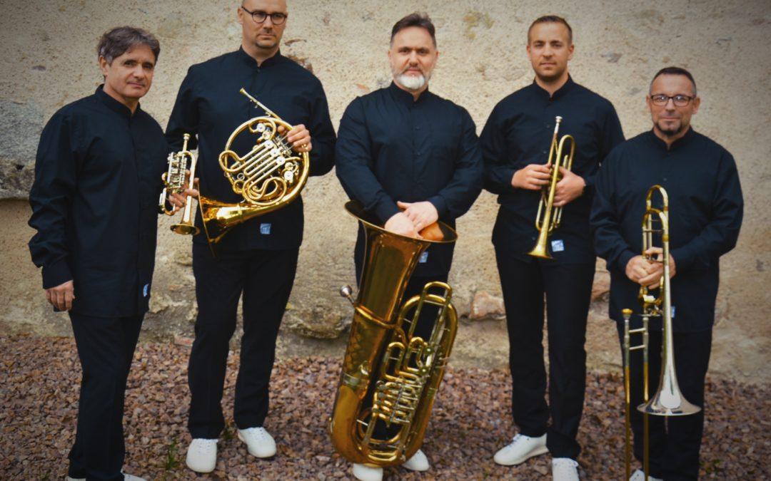 Le quintette de cuivres Aëris nous invite à un voyage musical …